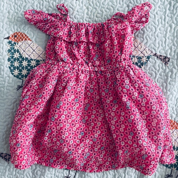 Pink floral patterned Gymboree dress (Brand new)